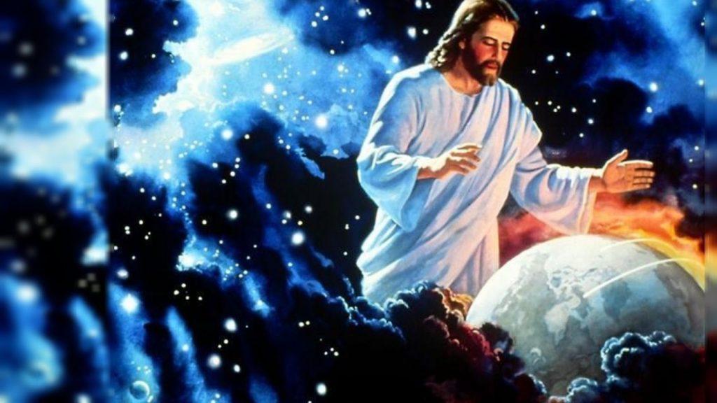 hình ảnh chúa jesus và trái đất