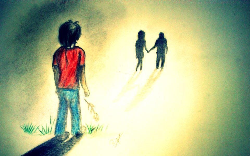 Hình ảnh có nghĩa là tình yêu đã mất