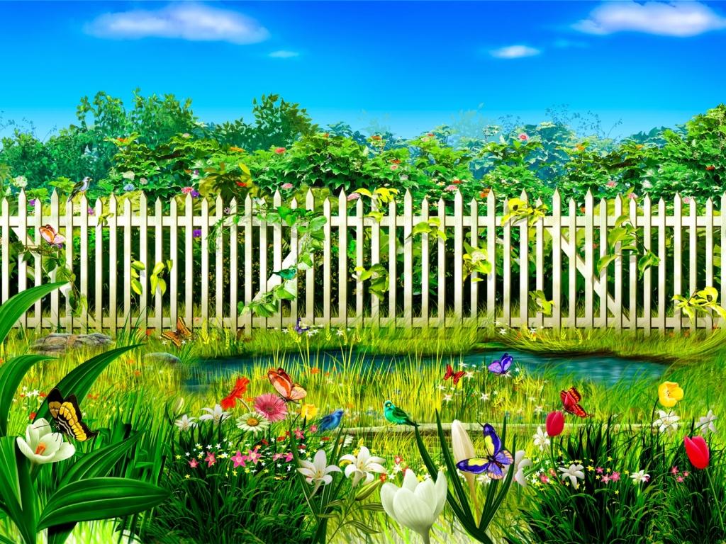Hình Nền Vườn Hoa đẹp