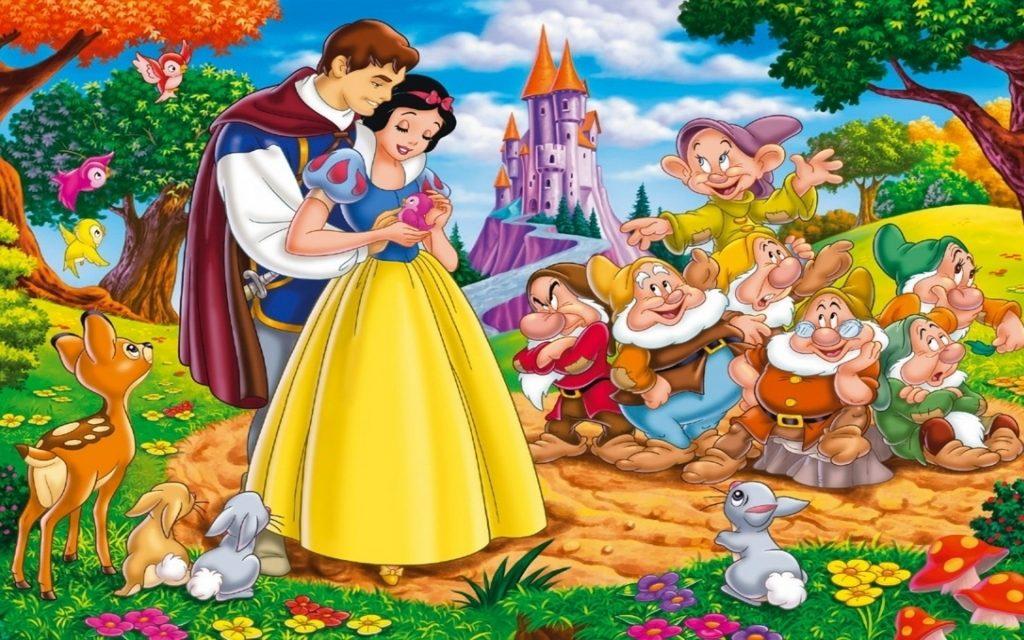 Nàng Bạch Tuyết Và Bảy Chú Lùn Disney