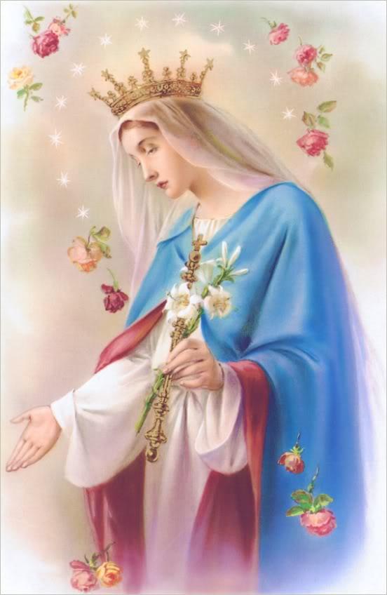 hình ảnh của Mẹ Thiên Chúa