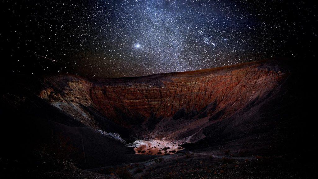 Hình ảnh bầu trời đêm đầy sao đẹp lung linh Sao