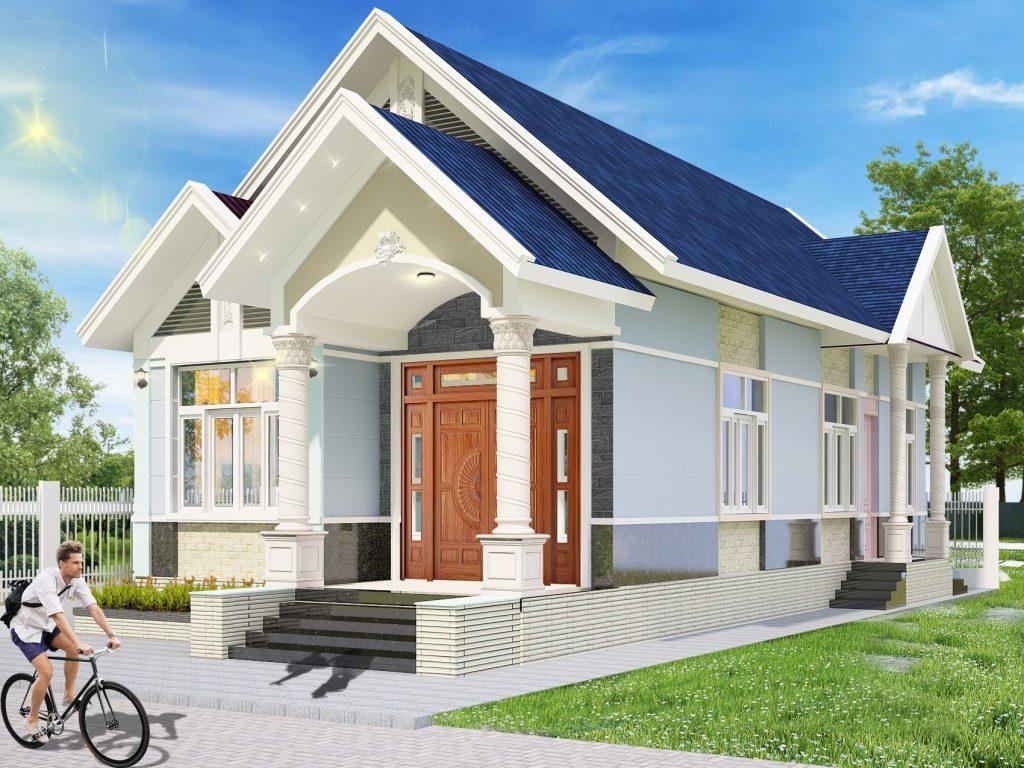 Hình ảnh Nhà Mái Thái đẹp