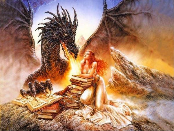 Hình ảnh Con Rồng Và Cô Gái