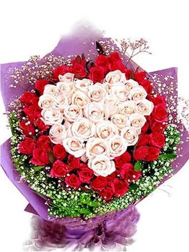 Bó hoa đầy màu sắc ảnh