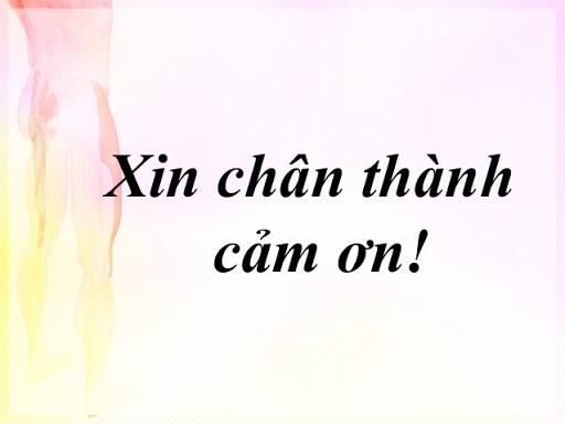 Xin Chân Thành Cảm ơn