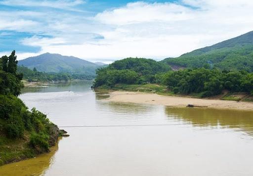 ảnh Dòng Sông Quê Hương đẹp