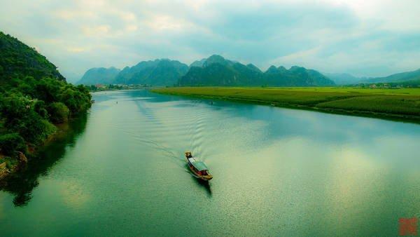 Hình ảnh Dòng Sông Quê Hương