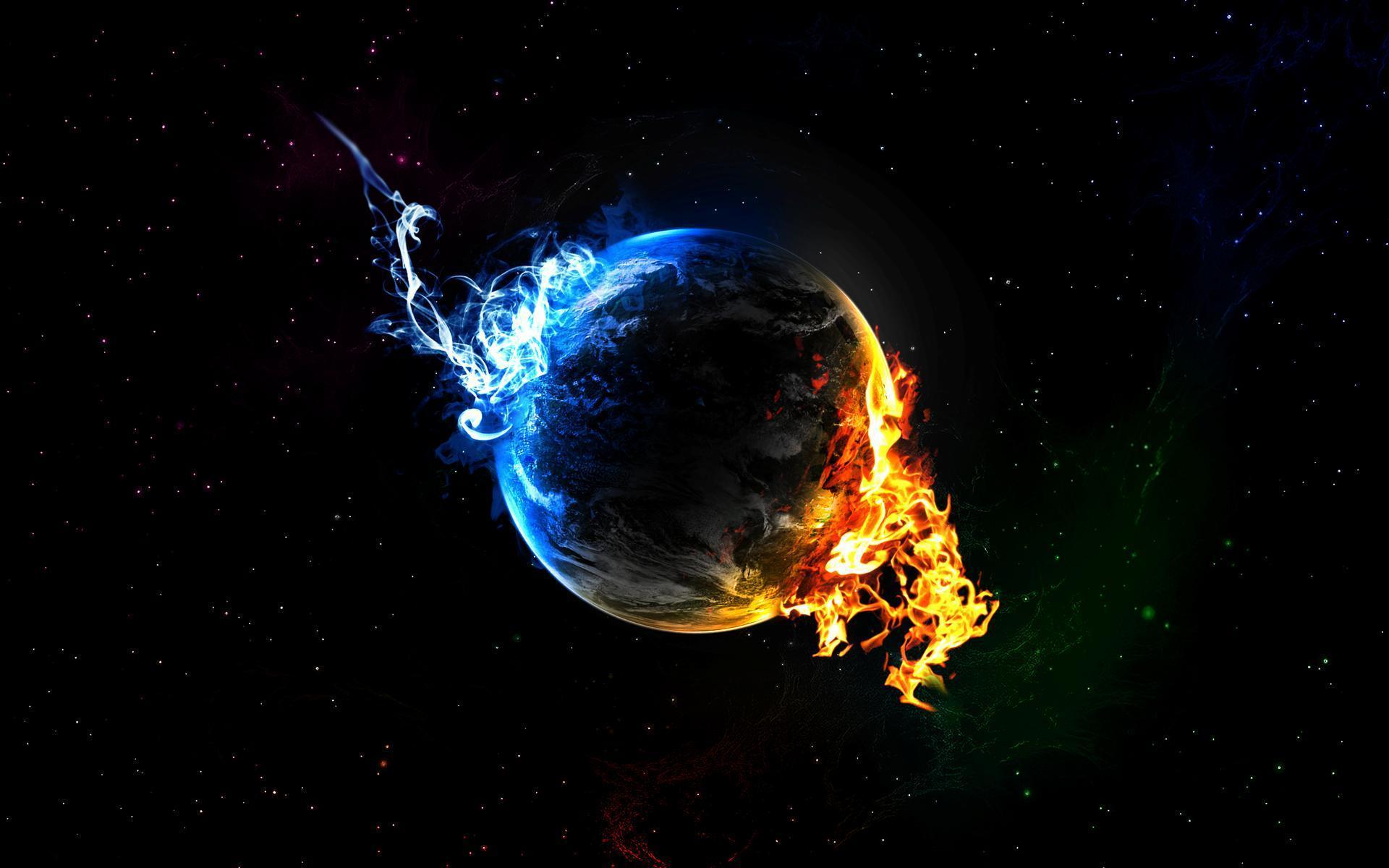 Hình Trái đất 3d đẹp