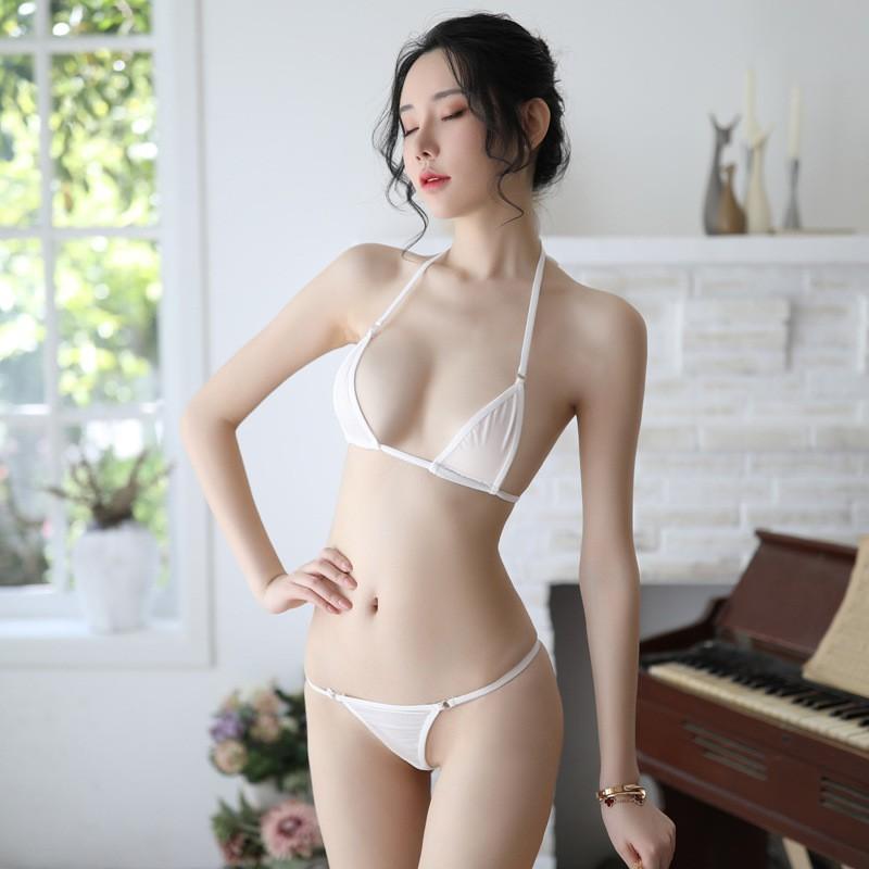 Hot Girl Bikini Siêu Nhỏ Mỏng Mặc Cũng Như Không