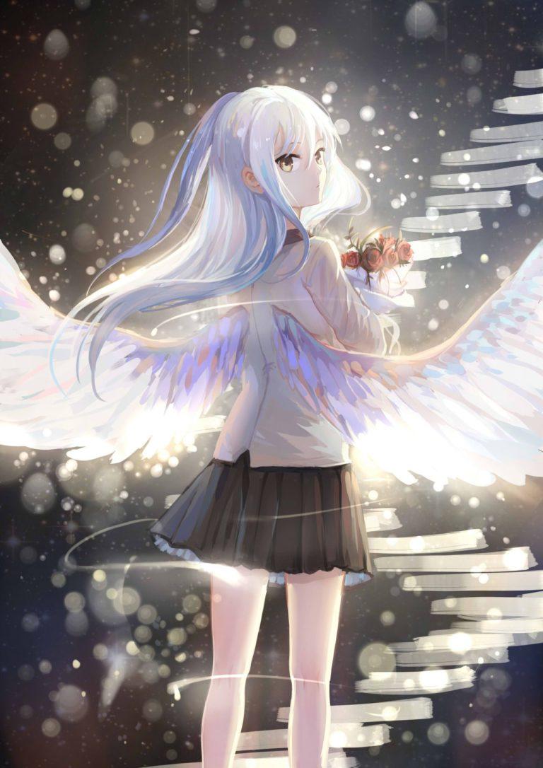 Tổng Hợp Những Hình Nền Anime Thiên Thần đẹp Nhất