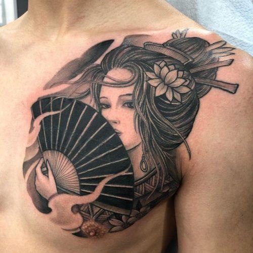 Minh Châu Tattoo Studio Hình Xăm Gheisa