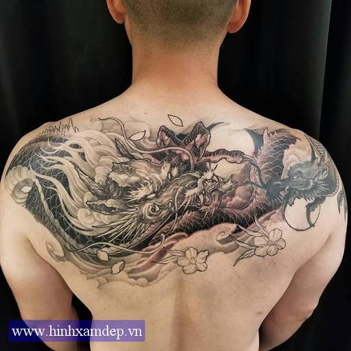 Hình Xăm Rồng đẹp Cho Nam